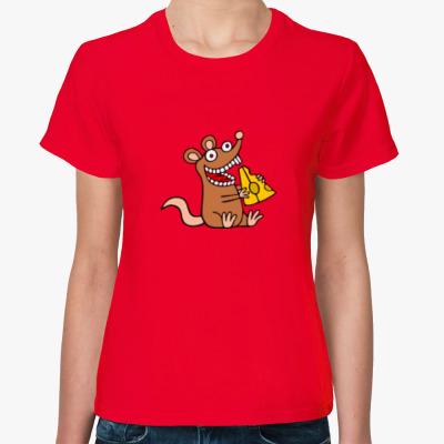 Женская футболка Крыса 2020 Rat