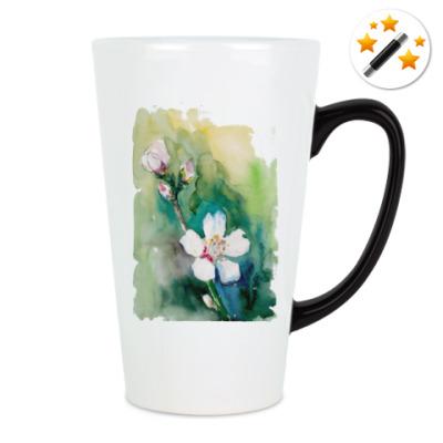 Кружка-хамелеон Цветущая сакура