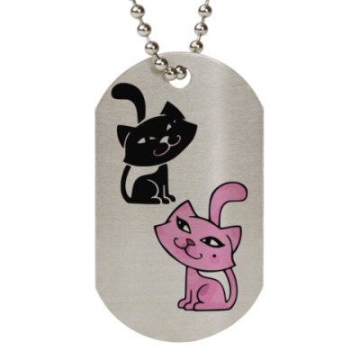 Жетон dog-tag Cats