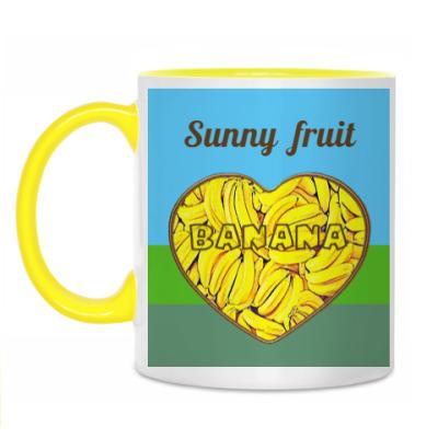Кружка   Sunny fruit