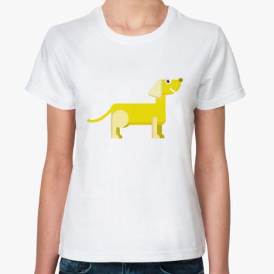 Классическая футболка Такса символ года