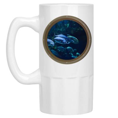 Пивная кружка Подводный мир