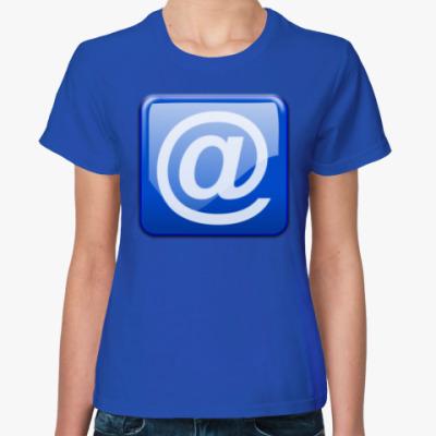 Женская футболка m@il