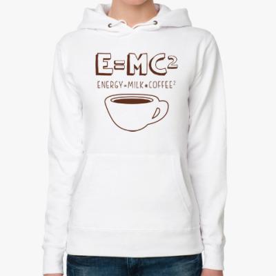 Женская толстовка худи E=MC2