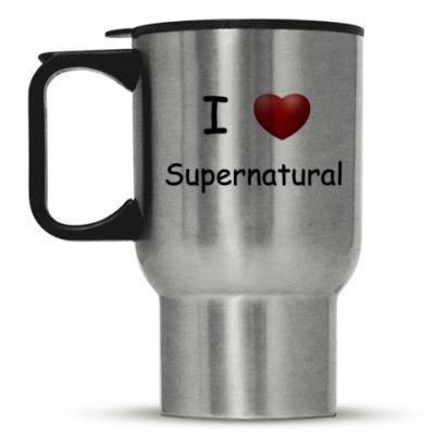Кружка-термос I Love Supernatural
