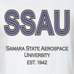 Отличная футболка СГАУ (ж)