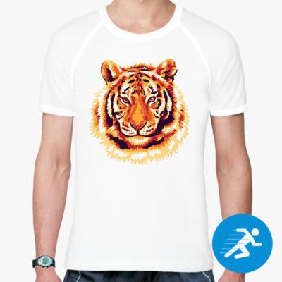 Спортивная футболка Тигр