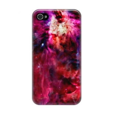 Чехол для iPhone 4/4s Космический взрыв