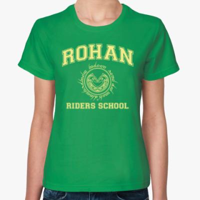 Женская футболка Rohan Riders School