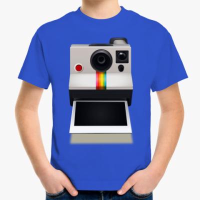 Детская футболка Полароид
