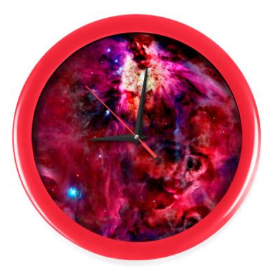 Настенные часы Космический взрыв