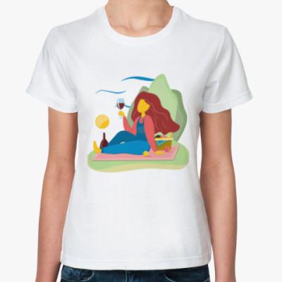 Классическая футболка Гурман