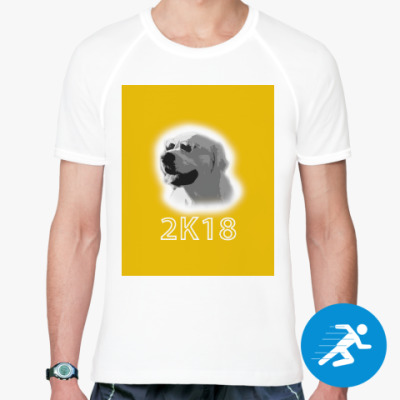 Спортивная футболка Год собаки
