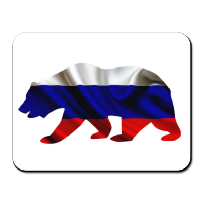 Коврик для мыши Русский медведь
