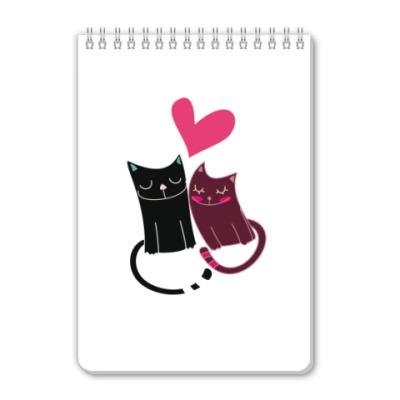 Блокнот Милые котики
