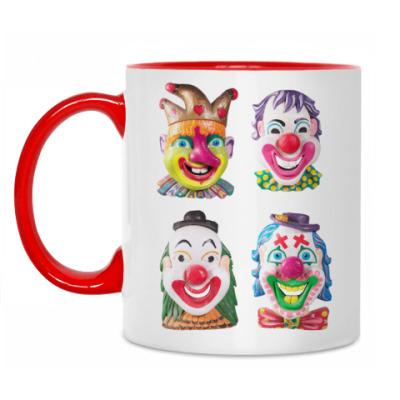 Кружка Клоуны