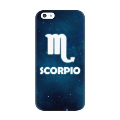 Чехол для iPhone 5c Знак зодиака. Скорпион