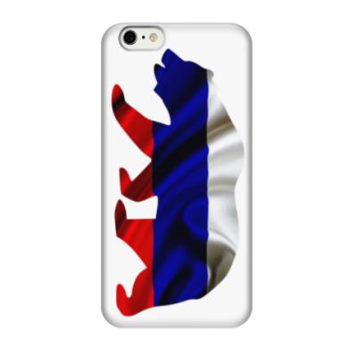Чехол для iPhone 6/6s Русский медведь