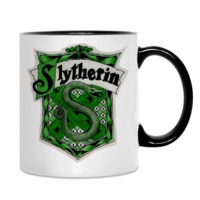 Кружка Hogwarts/Slytherin
