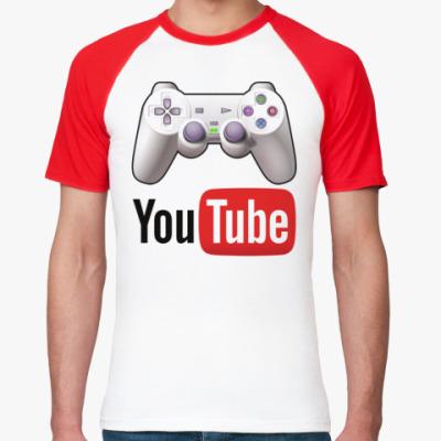 Футболка реглан YouTube Gamer