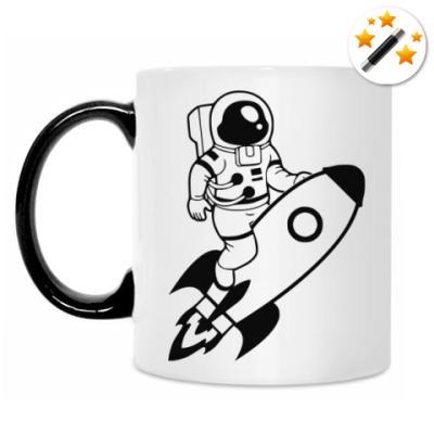 Кружка-хамелеон SpaceMan