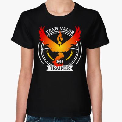 Женская футболка Покемоны. Team Valor