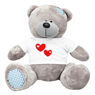 Плюшевый мишка Тедди Подарок на день Святого Валентина