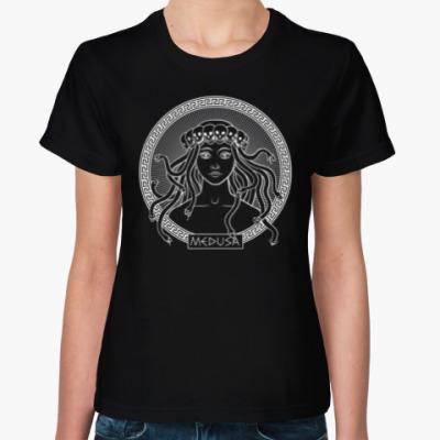 Женская футболка Горгона Медуза