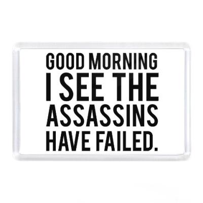 Магнит Good morning Доброе утро