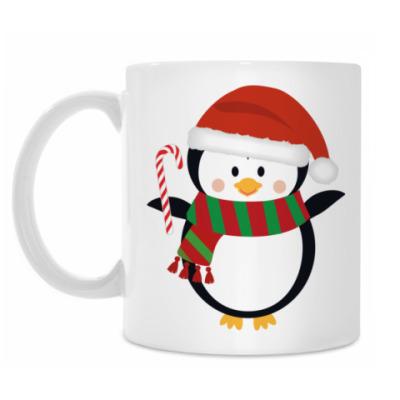 Кружка Новогодний Пингвин
