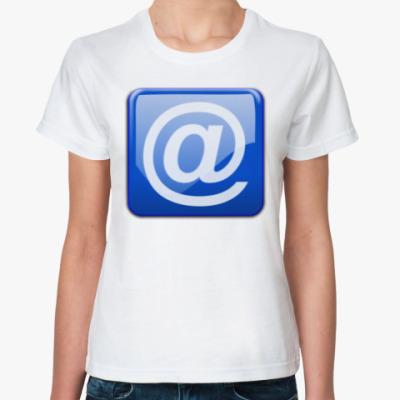 Классическая футболка m@il