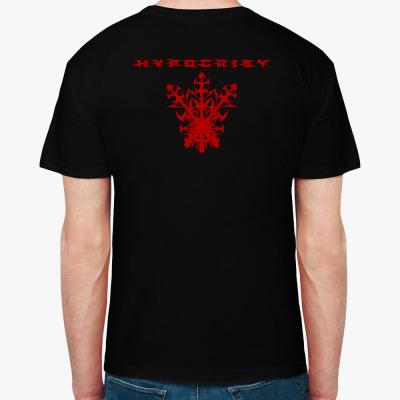 "Hypocrisy ""VIRUS"", Мужская футболка, черная"