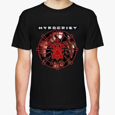 "Футболка Hypocrisy ""VIRUS"", Мужская футболка, черная"