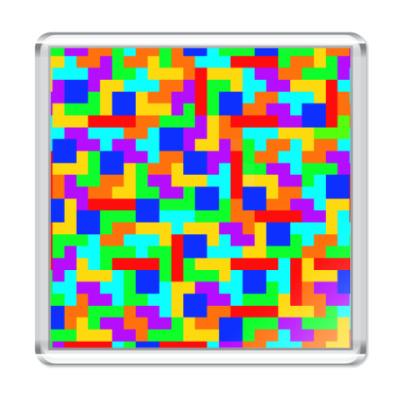 Магнит Tetris time (тетрис)