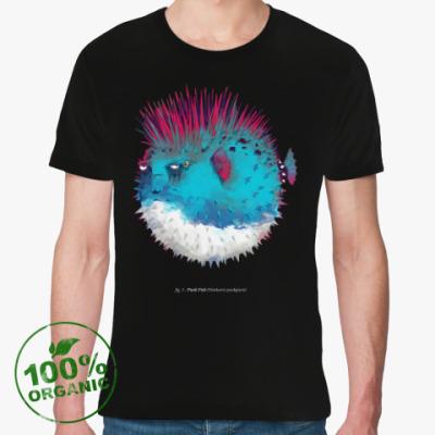 Футболка из органик-хлопка Брутальная рыба панк Punk fish