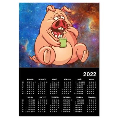 Календарь FAT PIG