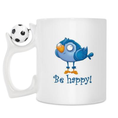 Кружка Будь счастлив!