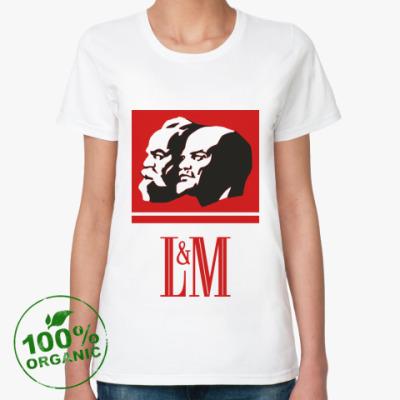 Женская футболка из органик-хлопка L&M [NEW]