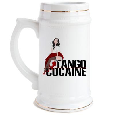 Пивная кружка Tango cocaine