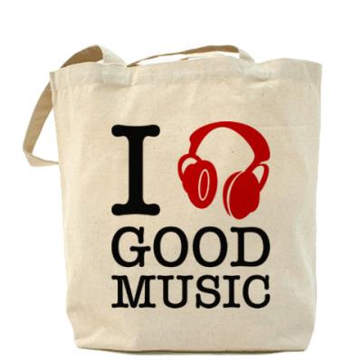 Сумка I love good music