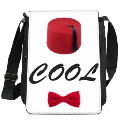 Сумка-планшет Fezes and Bow-ties are COOL