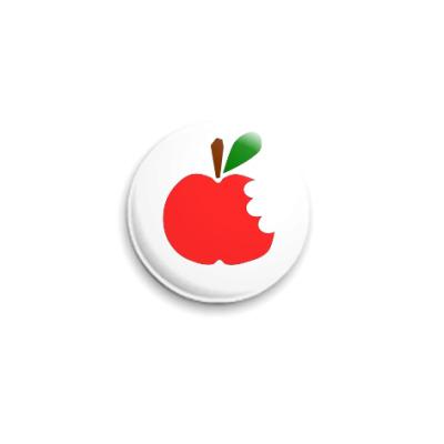 Значок 25мм Apple