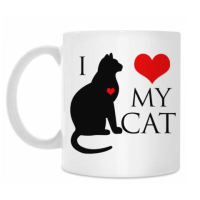 Кружка I Love My Cat