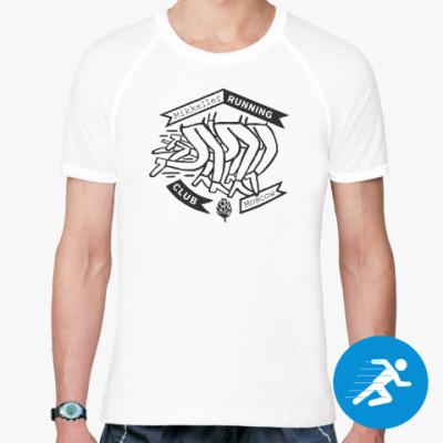 Спортивная футболка Мужская беговая футболка MRC Moscow babushka ed.