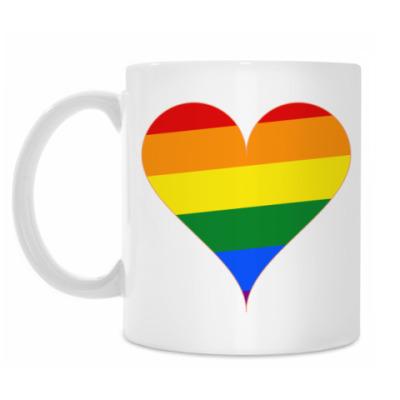 Кружка Rainbow Heart