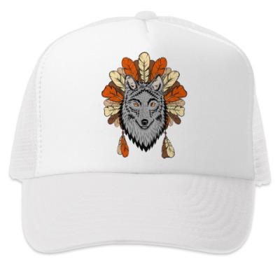 Кепка-тракер Волк, wolf