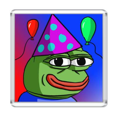 Магнит Sad Frog