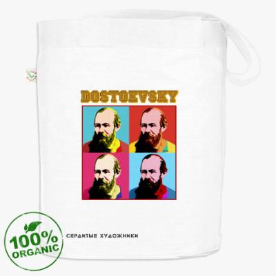 Белая сумка(DTG) Достоевский