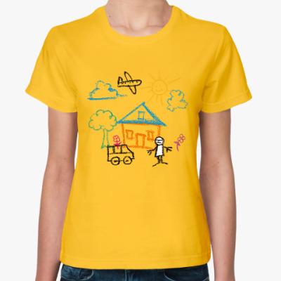 Женская футболка Этот мир