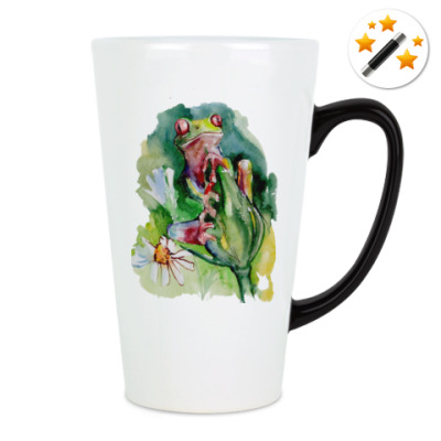 Кружка-хамелеон Лягушка